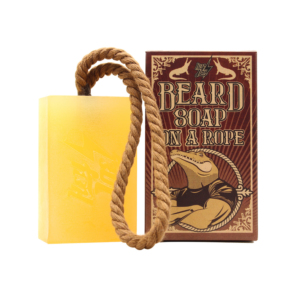 Beard Soap On A Rope | Jabón para Barba